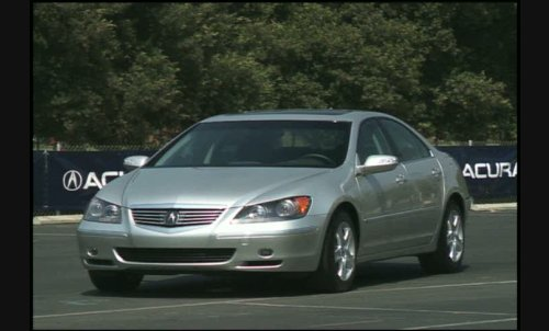 acura rl technology package #1
