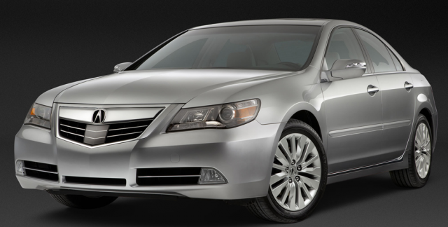acura rl technology package #3