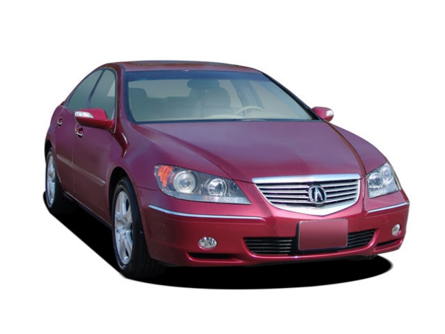 acura rl technology package #4