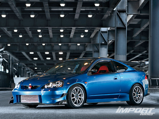 acura rsx modified #8