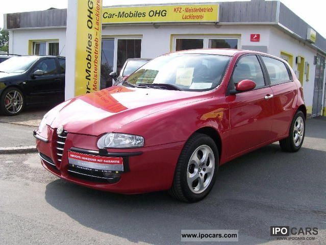 alfa romeo 147 1 9 jtd 16v distinctive photos and. Black Bedroom Furniture Sets. Home Design Ideas