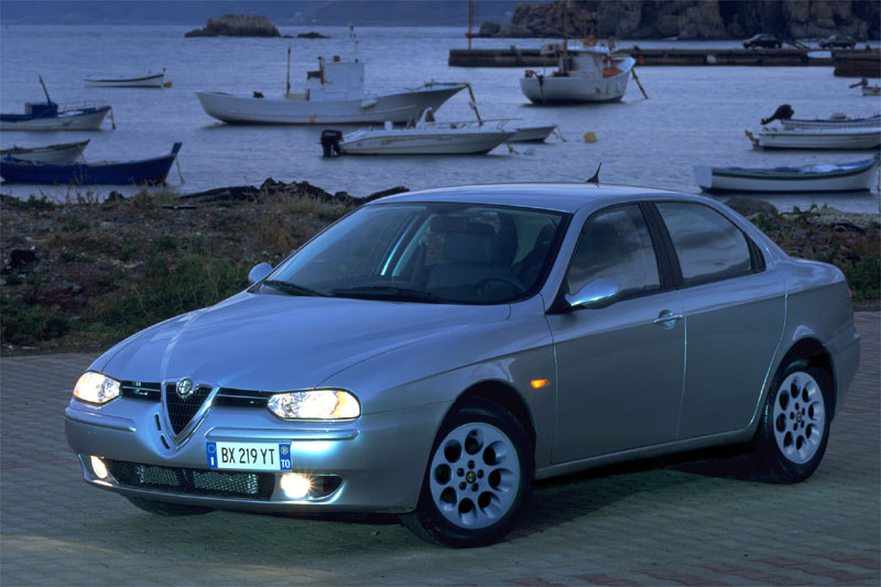alfa romeo 156 1 9 jtd photos and comments. Black Bedroom Furniture Sets. Home Design Ideas