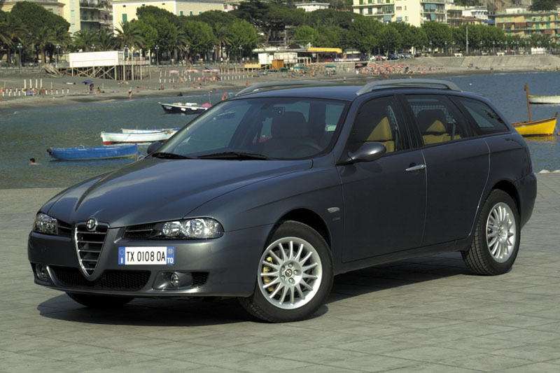alfa romeo 156 sportwagon 1 9 jtd photos and comments. Black Bedroom Furniture Sets. Home Design Ideas