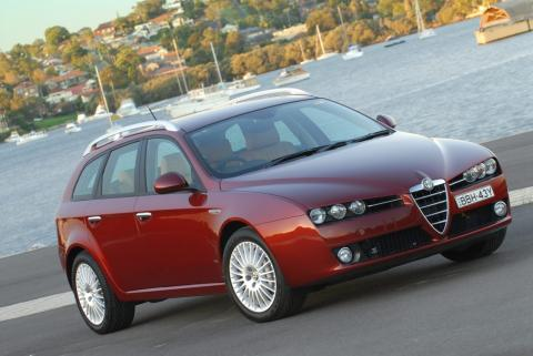 alfa romeo 159 sw 1 9 jtd photos and comments. Black Bedroom Furniture Sets. Home Design Ideas
