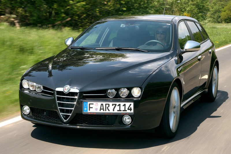 alfa romeo 159 sw 2 4 jtdm q4 photos and comments. Black Bedroom Furniture Sets. Home Design Ideas