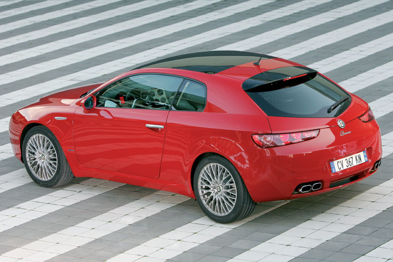alfa romeo brera 3 2 jts v6 q4 photos and comments. Black Bedroom Furniture Sets. Home Design Ideas