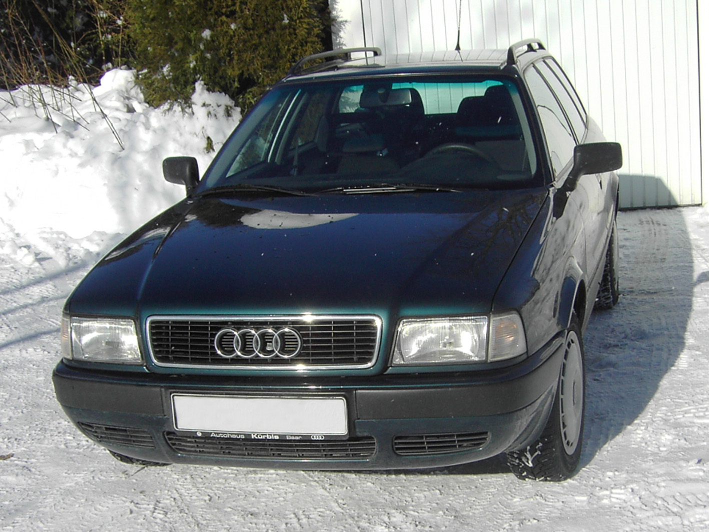 audi 80 avant tdi photos and comments. Black Bedroom Furniture Sets. Home Design Ideas