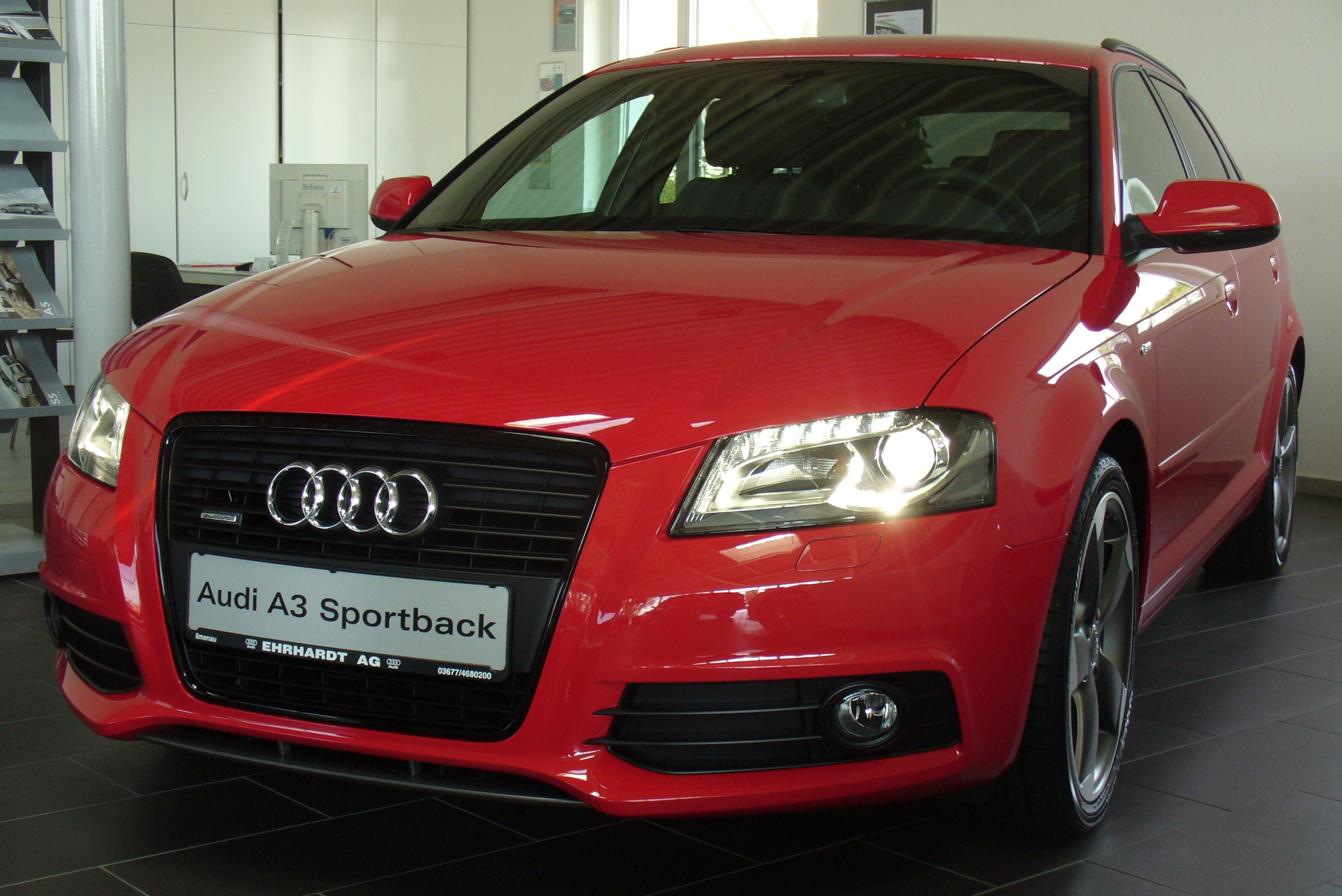 audi a3 2 0 tdi sportback quattro photos and comments. Black Bedroom Furniture Sets. Home Design Ideas