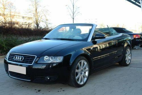 audi a4 2 5 tdi cabriolet photos and comments. Black Bedroom Furniture Sets. Home Design Ideas