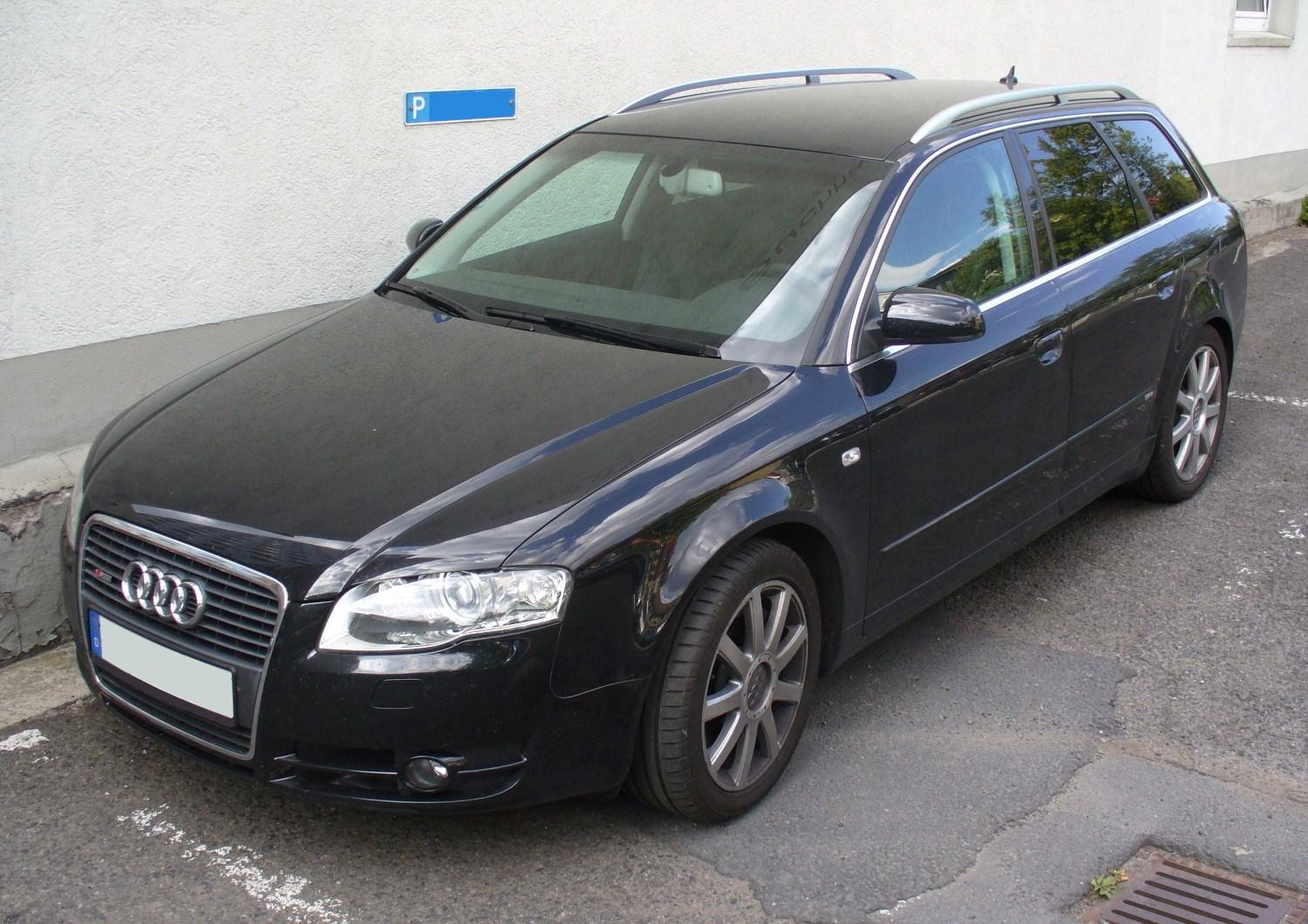 audi a4 avant 2 7 tdi photos and comments. Black Bedroom Furniture Sets. Home Design Ideas