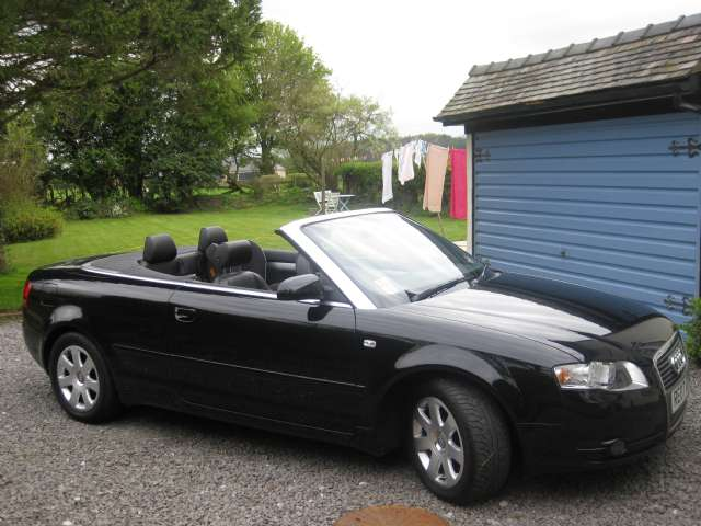 audi a4 cabriolet 1 8 t photos and comments. Black Bedroom Furniture Sets. Home Design Ideas