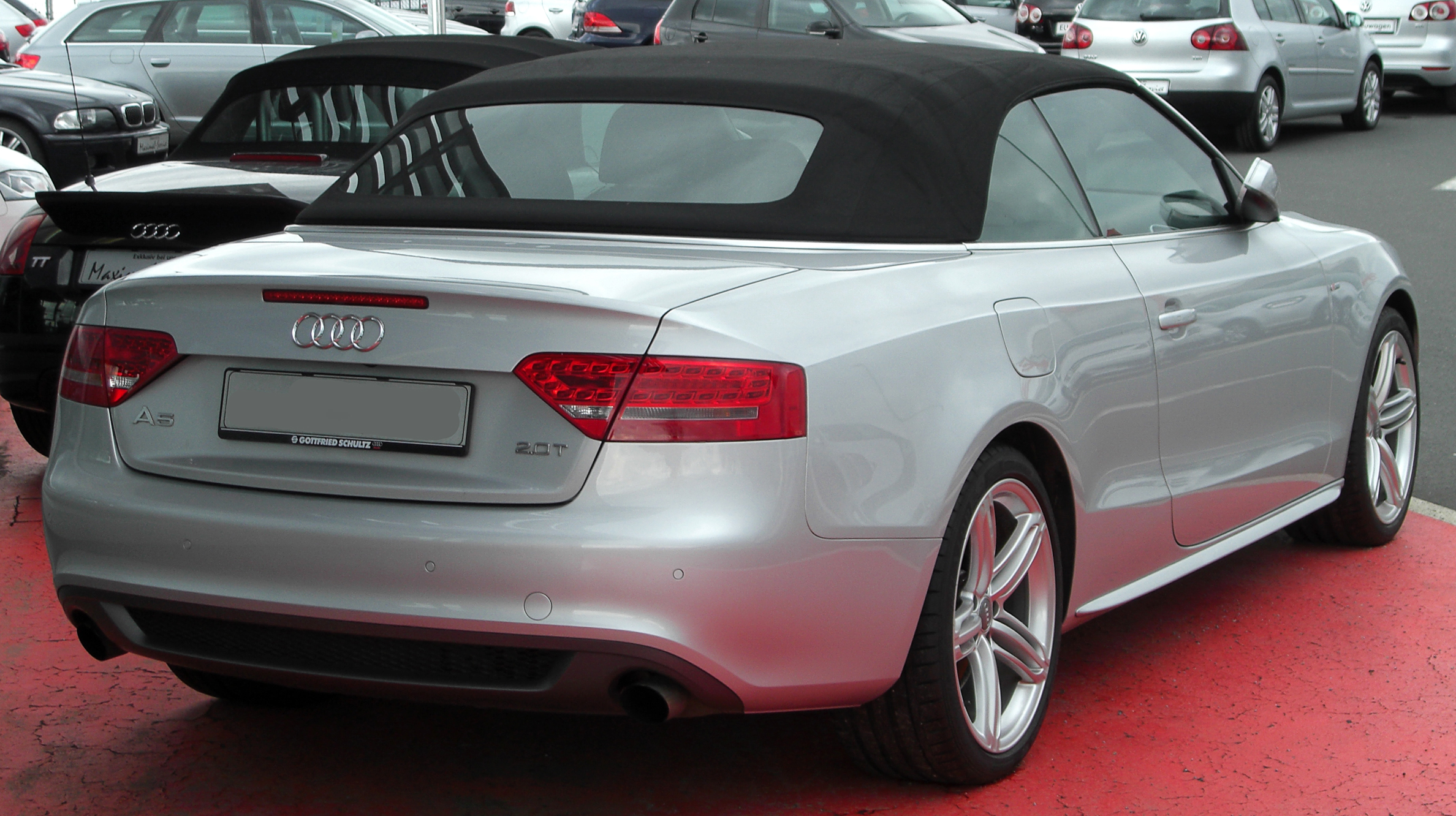 audi a5 2.0 tfsi cabriolet-pic. 2