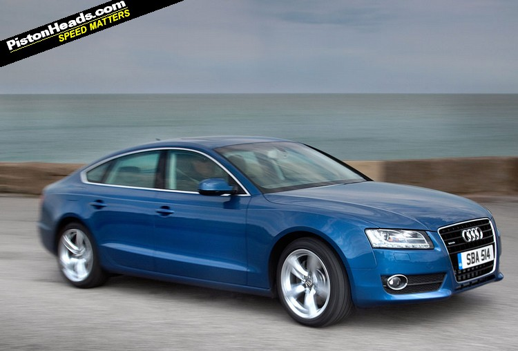 audi a5 3 0 tdi sportback quattro photos and comments. Black Bedroom Furniture Sets. Home Design Ideas