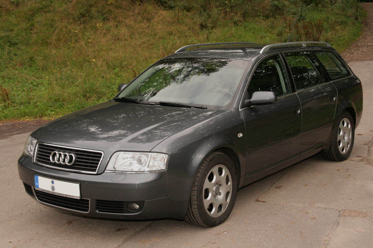 audi a6 avant 2 5 tdi photos and comments. Black Bedroom Furniture Sets. Home Design Ideas