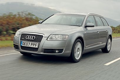 audi a6 avant 2 7 tdi photos and comments. Black Bedroom Furniture Sets. Home Design Ideas
