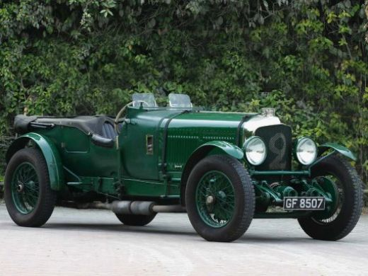 bentley speed six le mans #1