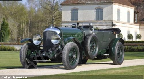 bentley speed six le mans #5
