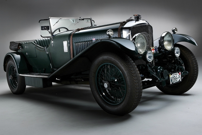 bentley speed six le mans #6
