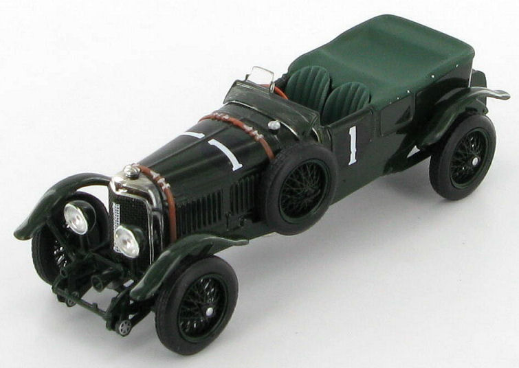 bentley speed six le mans #7