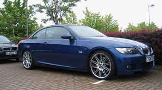 bmw 335i convertible m sport #3