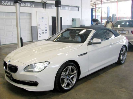 bmw 640i convertible-pic. 2