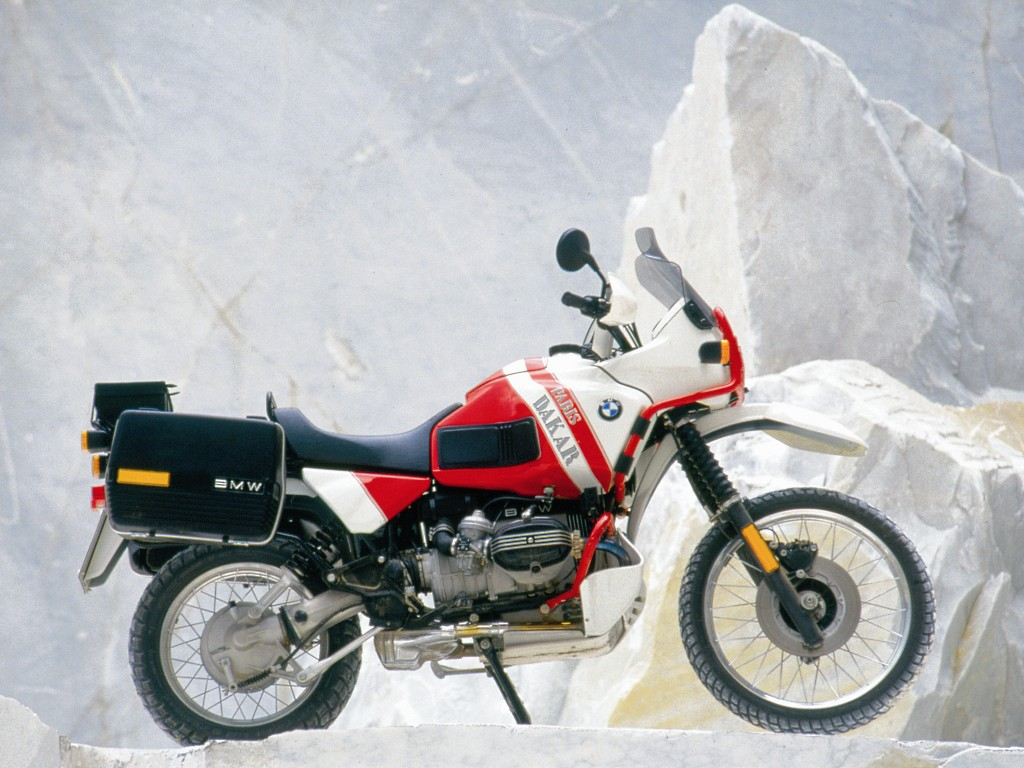 bmw r 100 gs paris-dakar-pic. 1