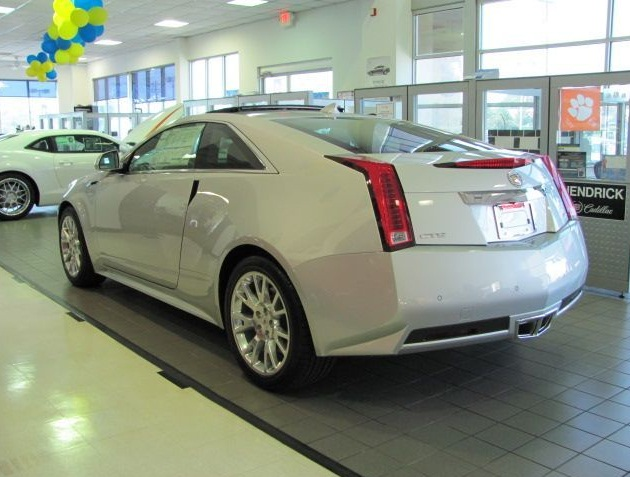 cadillac cts coupe awd-pic. 1