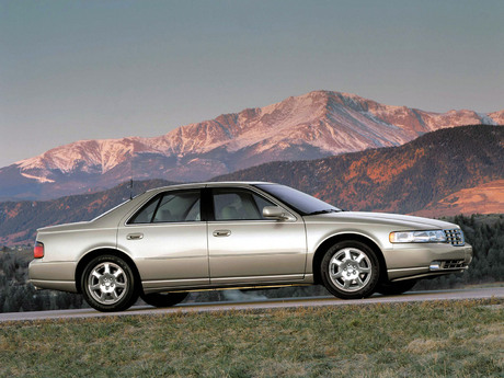 cadillac seville sts #7