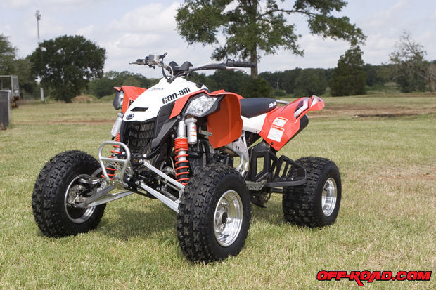 can-am ds 450 #4