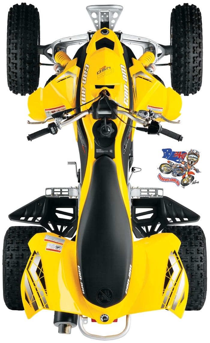can-am ds 450 #8