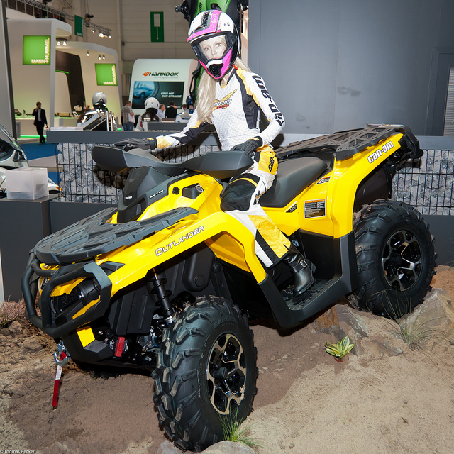 can-am outlander 1000 xt-pic. 3