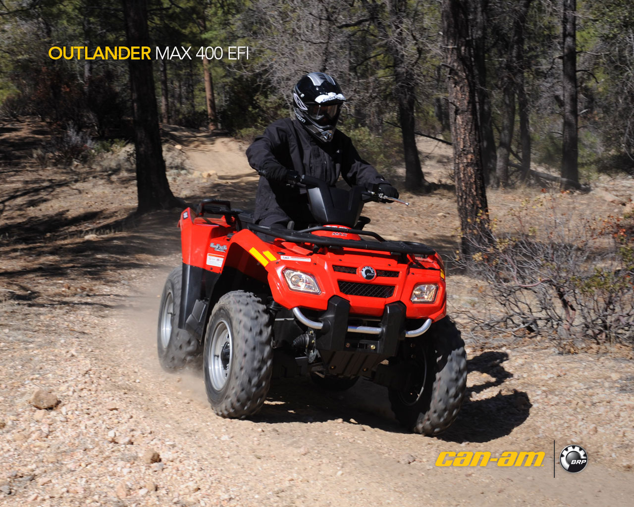 can-am outlander 400 efi-pic. 1