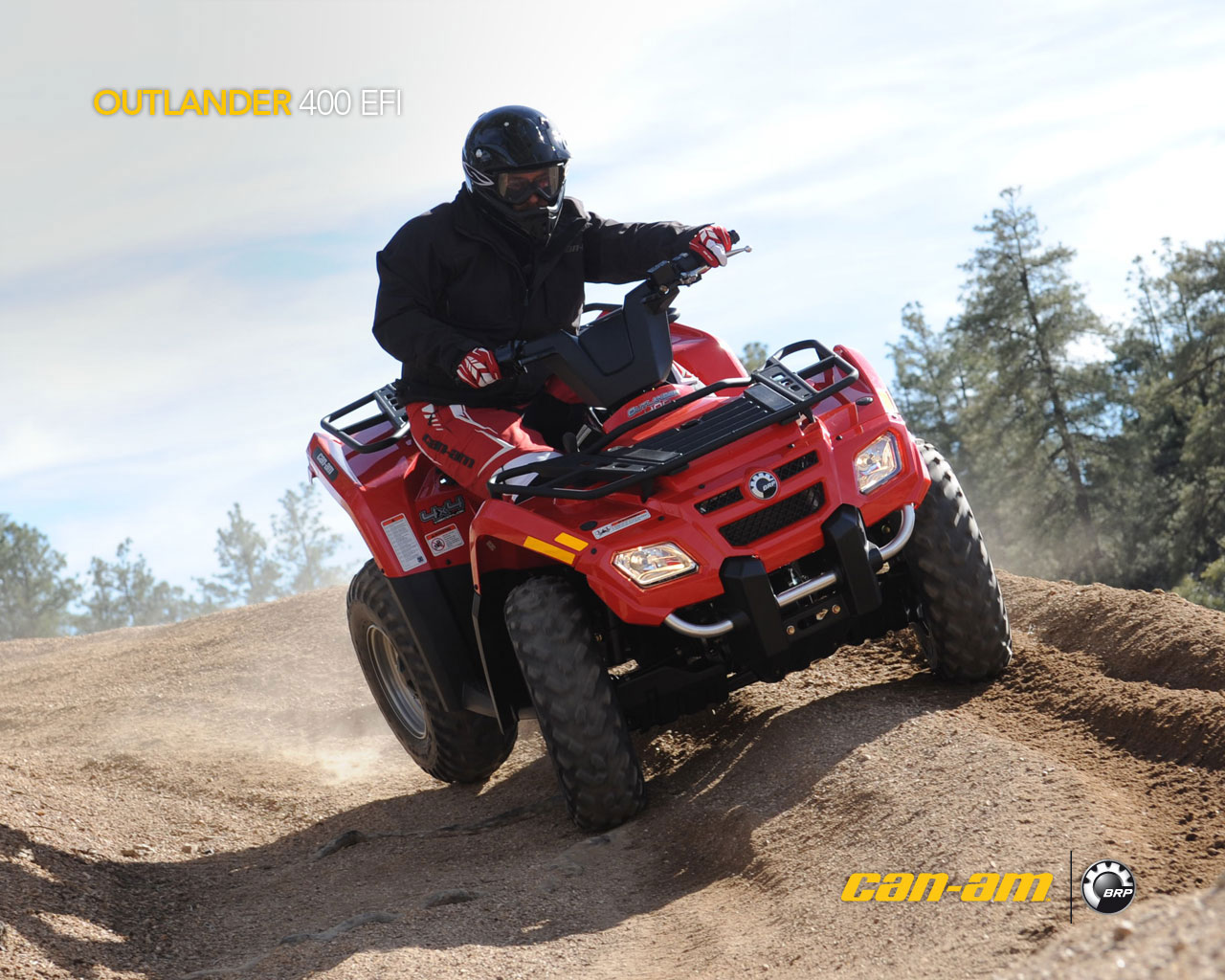 can-am outlander 400 efi-pic. 2