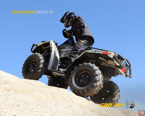 can-am outlander 500 efi xt #3
