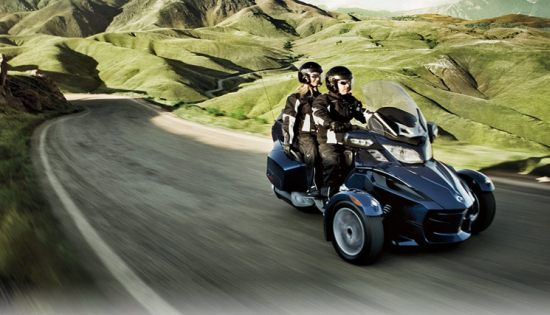 can-am spyder roadster rt limited-pic. 2