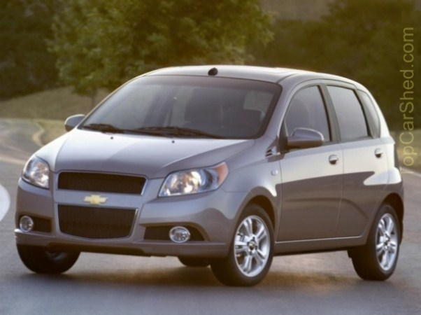 chevrolet aveo 1.6 l hatch-pic. 1