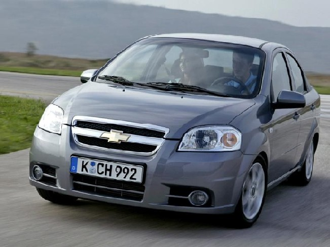 chevrolet aveo ls sedan-pic. 1