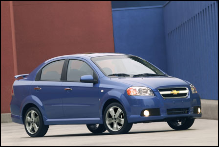 chevrolet aveo ls sedan-pic. 2