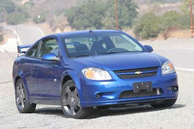 chevrolet cobalt ss supercharged coupe-pic. 1