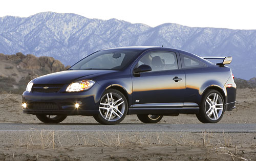 chevrolet cobalt ss turbocharged coupe-pic. 1