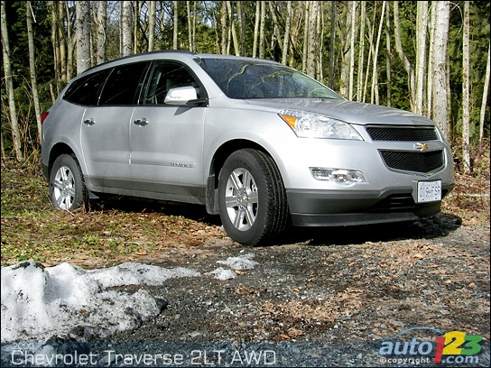 chevrolet traverse 2lt awd-pic. 1