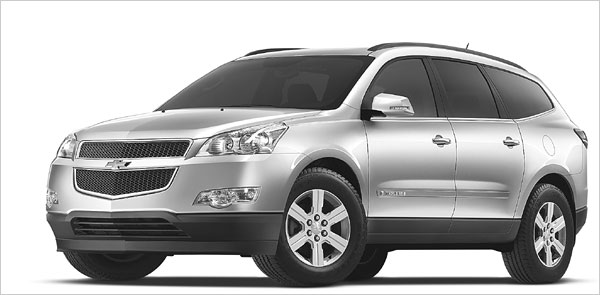 chevrolet traverse 2lt awd-pic. 2