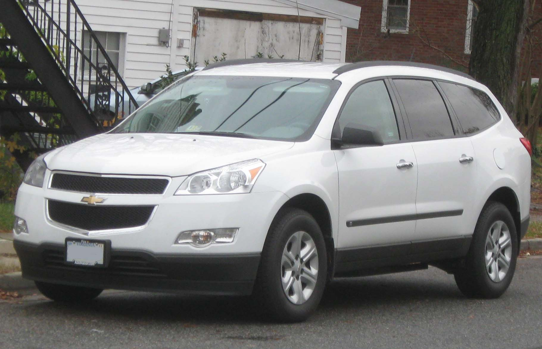 chevrolet traverse ls-pic. 1
