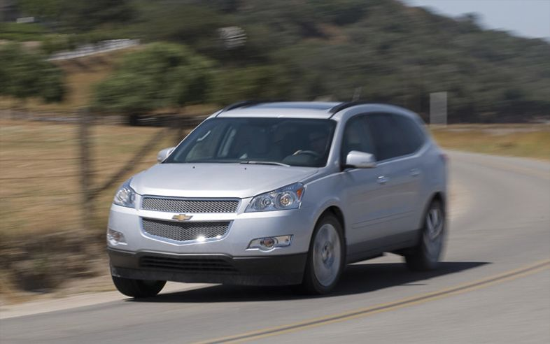 chevrolet traverse ltz awd-pic. 1