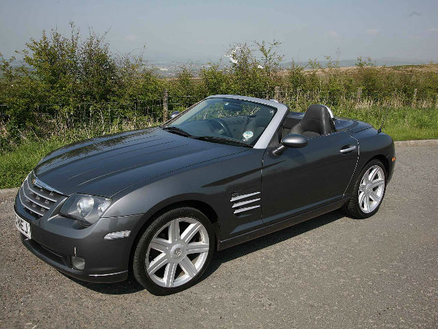 chrysler crossfire 3.2 coupe #3