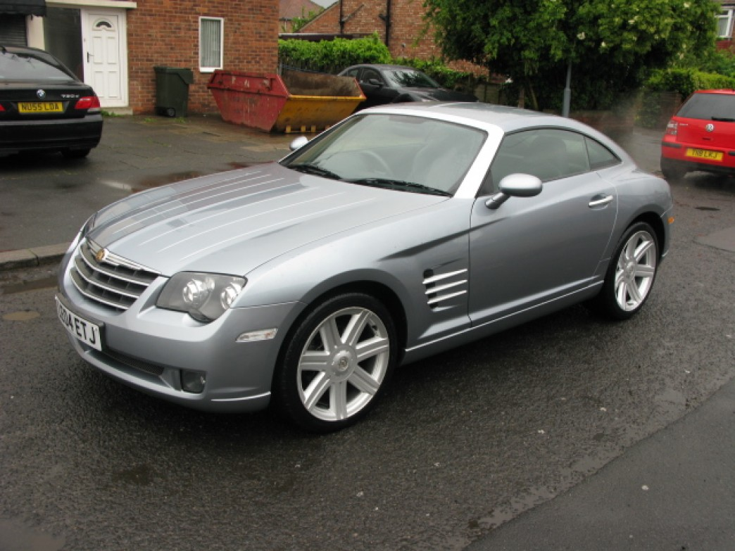 chrysler crossfire 3 2 v6 photos and comments
