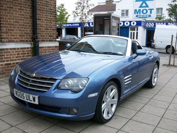 chrysler crossfire 3.2 v6 roadster #6