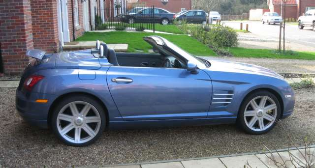 chrysler crossfire 3.2 v6 roadster #7