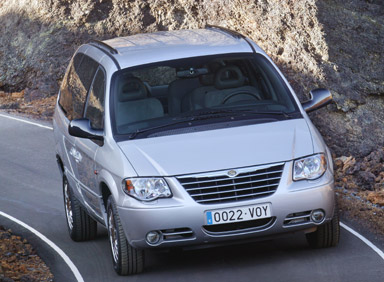 chrysler grand voyager 3.3 v6 awd #0