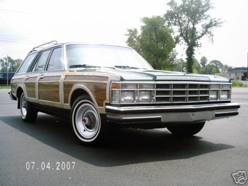 chrysler lebaron town & country #7